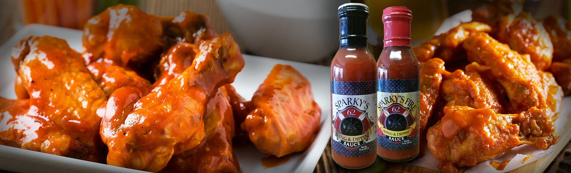 Sparky's Wing & Dipping Sauce