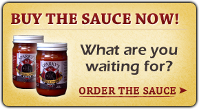 Buy The Sauce Now!